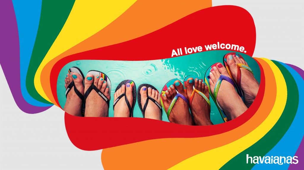 Havaianas哈瓦仕 Pride系列6月15日官網發售