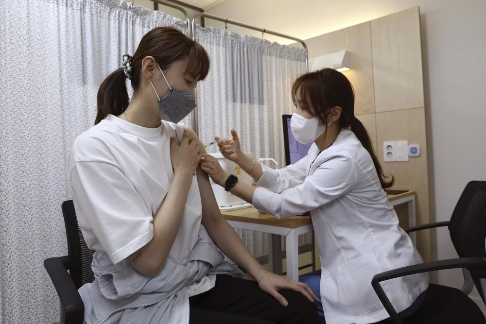 Vaccination in South Korea
