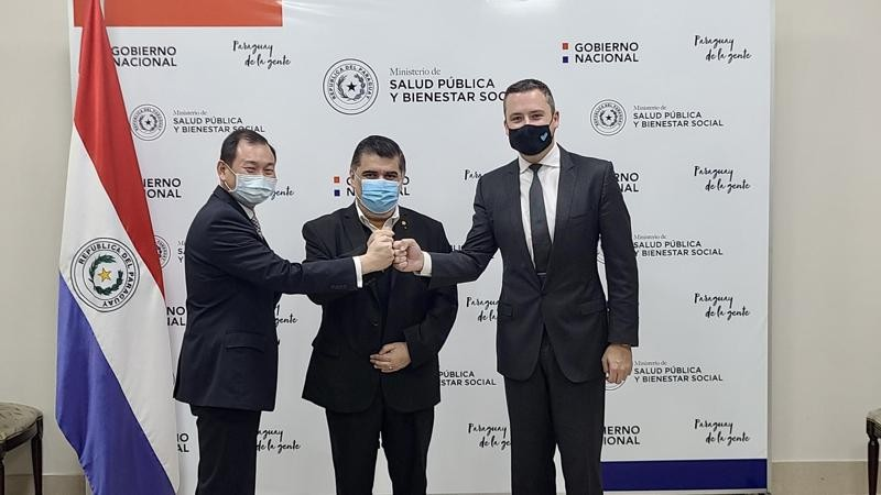 Paraguay signed a contract to buy 1 million vaccine doses from Taiwan-related Vaxxinity