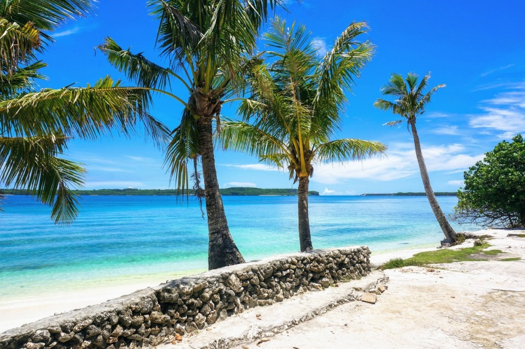 Family Beach, Piti, Guam. (Unsplash, Danny Mc photo)