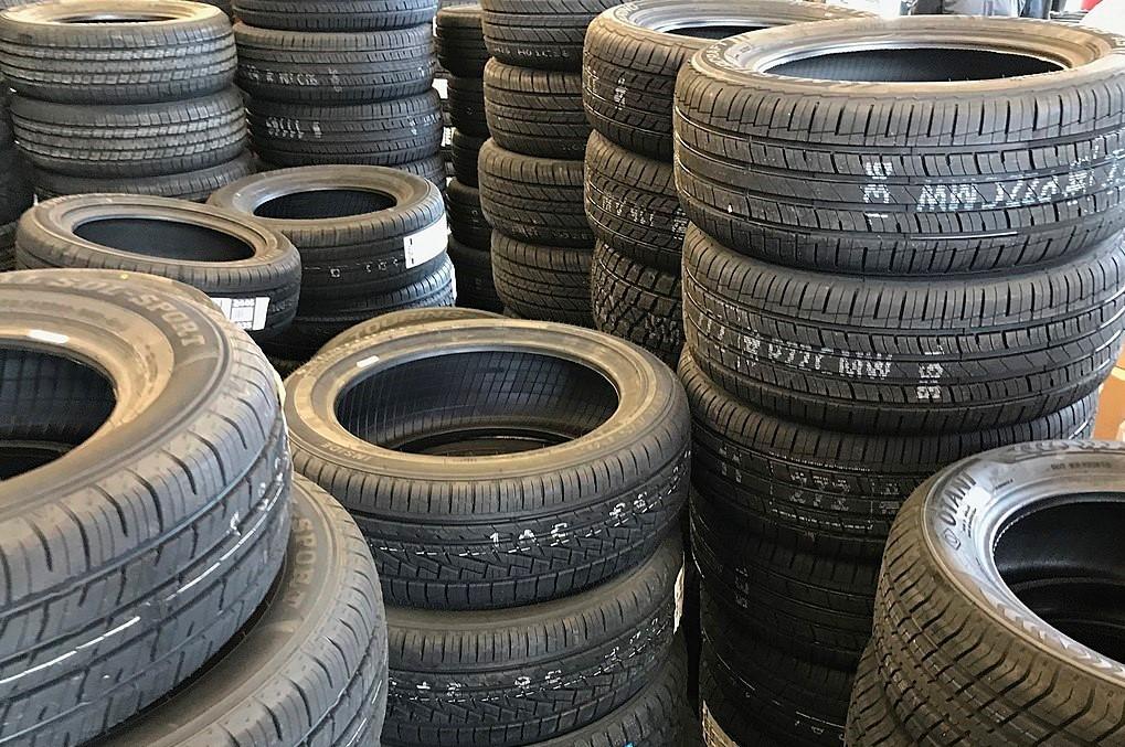 Car tires (Stephen Flanders photo)
