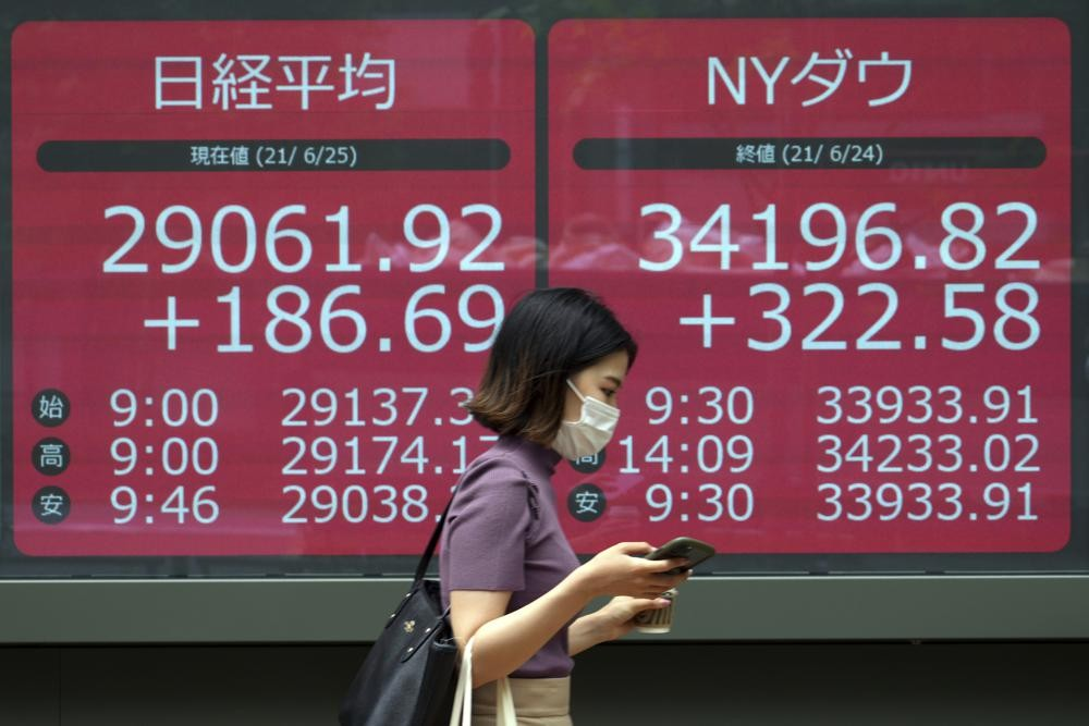 Asian shares up as U.S. infrastructure bill lifts S&P to a record