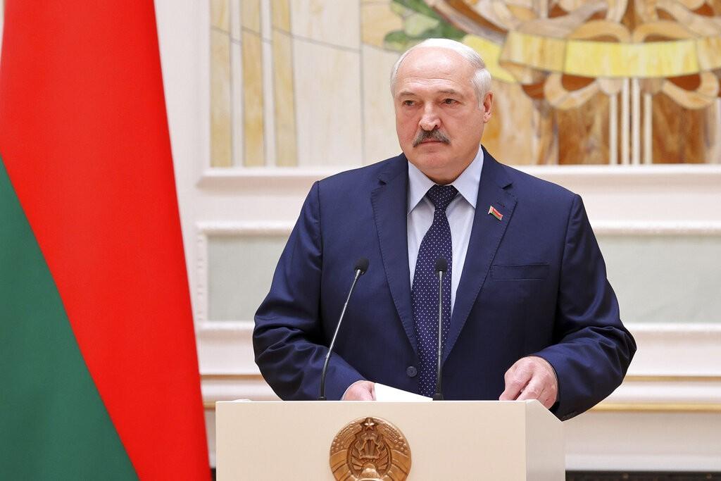 白俄羅斯總統盧卡申科(圖/AP)