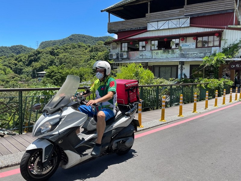 Maokong food delivery service (Taipei City Government photo)