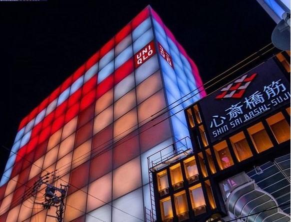 UNIQLO日本首間全球旗艦店 -心齋橋店驚傳將於8/1熄燈。(截圖自instagram)