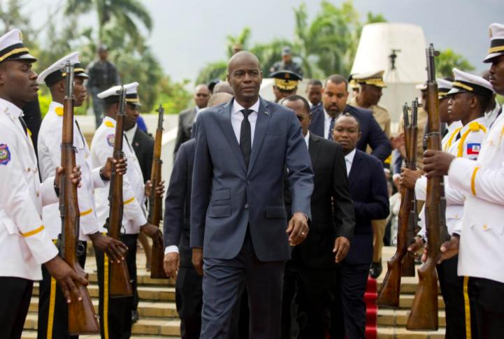 海地總統摩依士(Jovenel Moise)今(7)日遭槍殺(圖/美聯社)