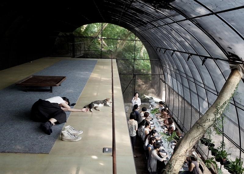 Siu Siu - Lab of Primitive Senses (Architekturmuseum der TUM photo)
