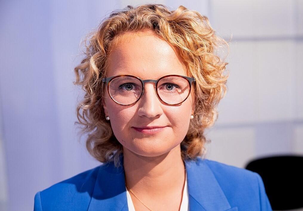 LithuanianMinister of Economy and Innovation Ausrine Armonaite (LRT photo)