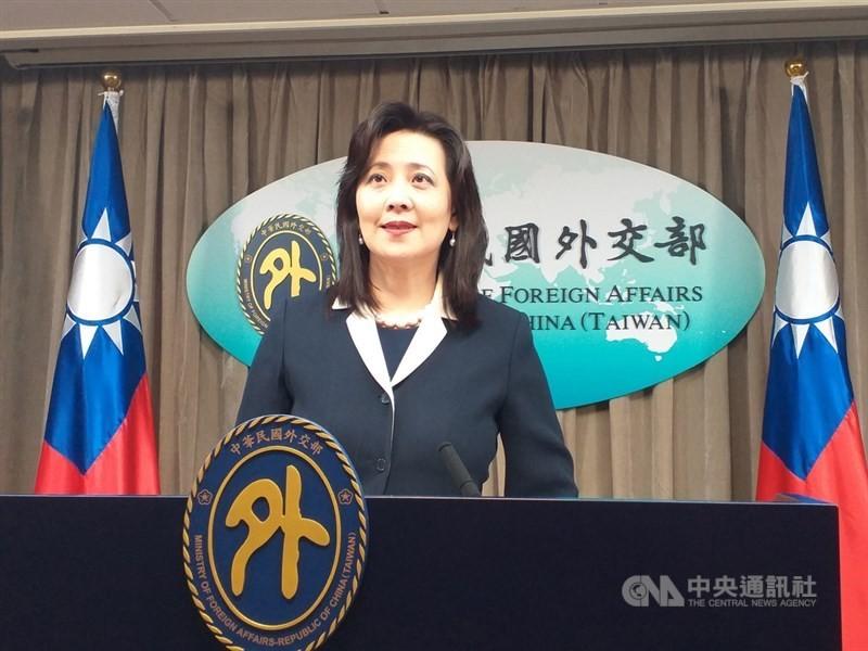 台灣外交部發言人歐江安對日本再次贈送AZ疫苗表達感謝。(圖/中央社)