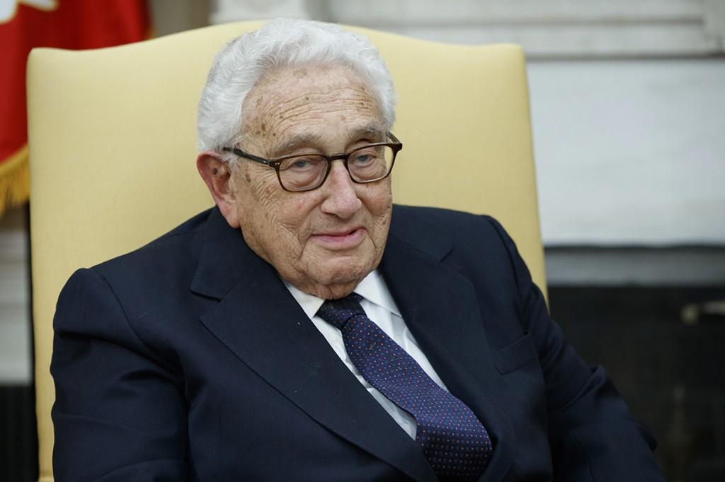 Former U.S. Secretary of State Henry Kissinger.