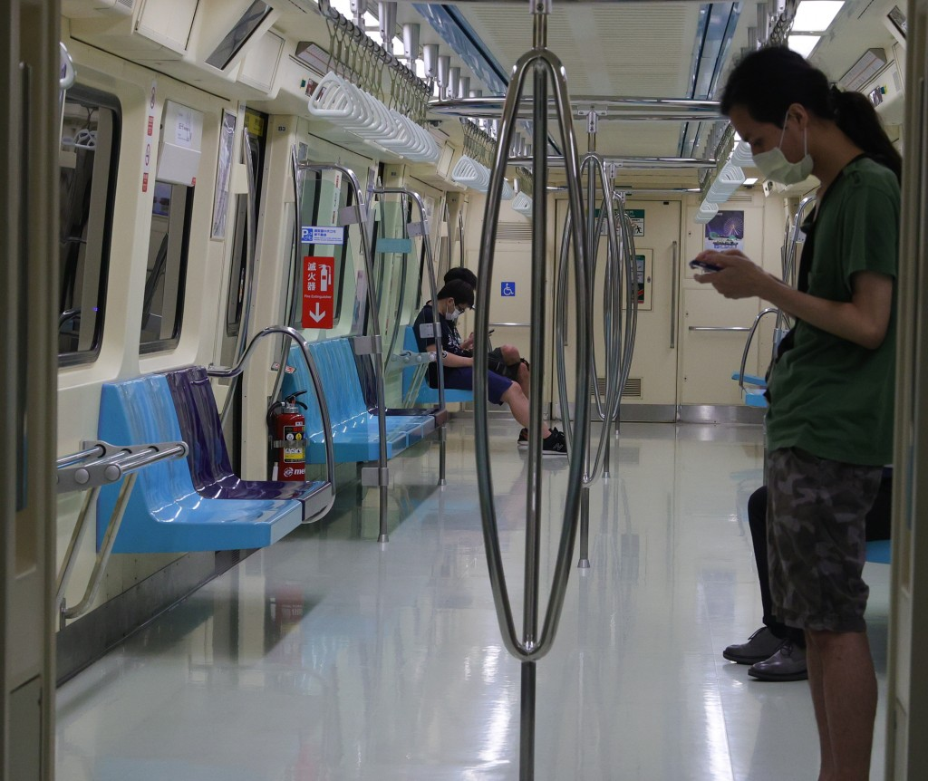 The Taipei MRT reported a cleaner at a Green Line station infected with COVID.