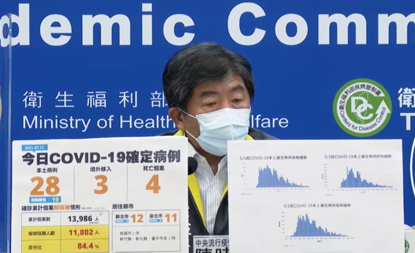 中央流行疫情指揮中心指揮官陳時中(圖/翻攝自Youtube)