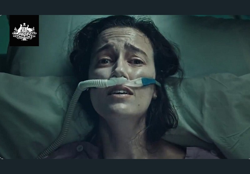 澳洲官方防疫廣告截圖
