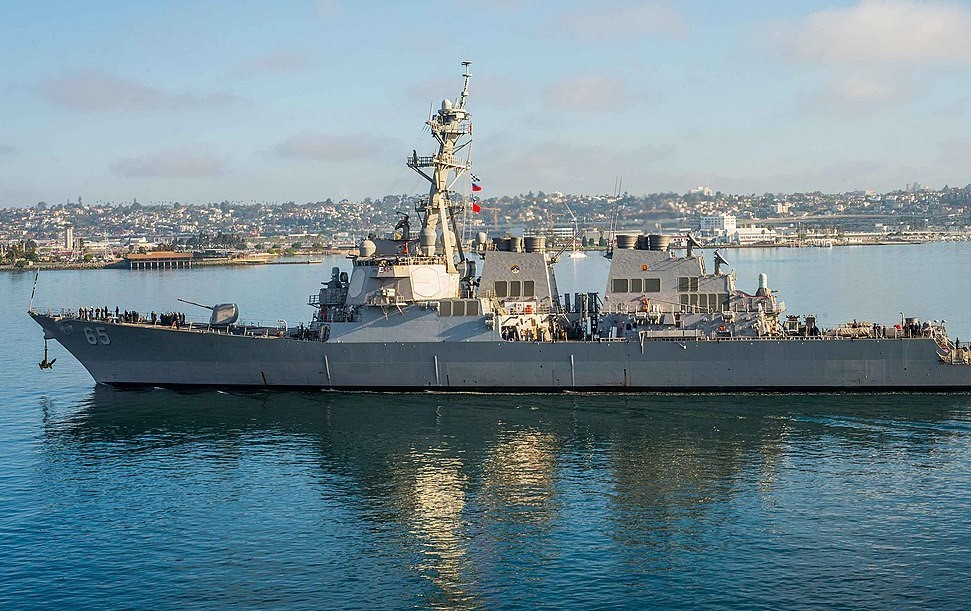 USS Benfold (U.S. Navy photo)