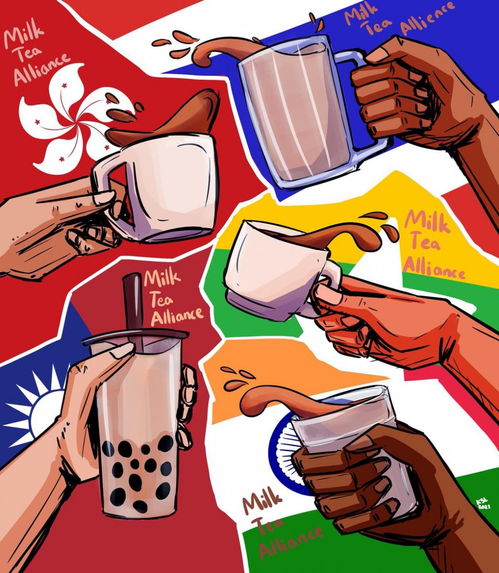 Milk Tea Alliance brews trouble for China