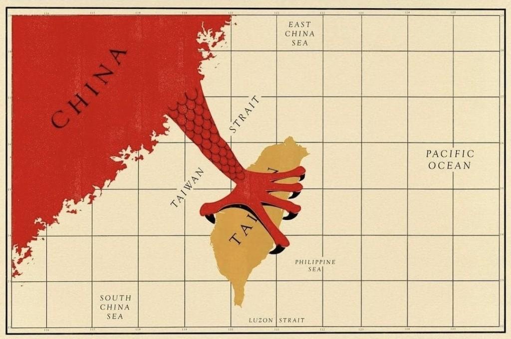 「中國會否武統台灣」成美國國際關權威雜誌 《外交》近幾月的熱門議題。(圖/推特Taiwan Freedom image)