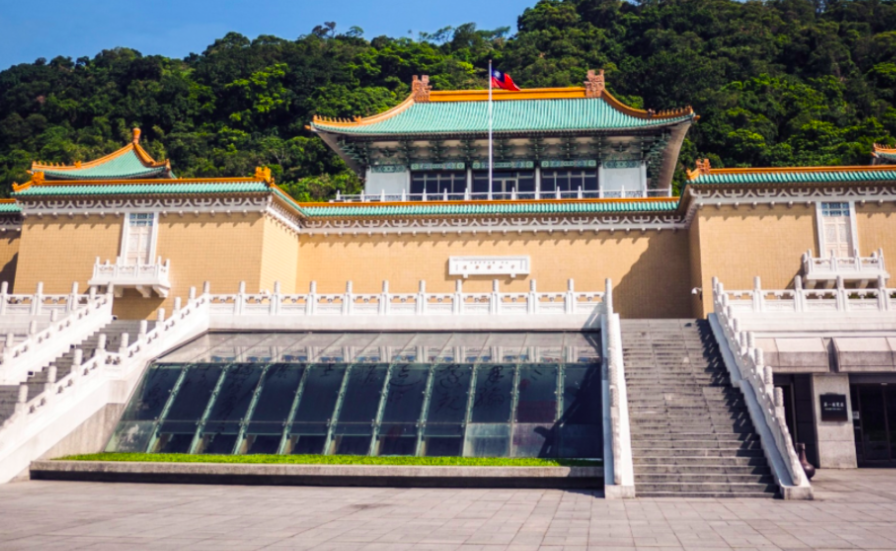 National Palace Museum reopens but isfully booked until Sunday. (National Palace Museumphoto)