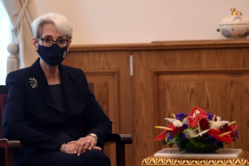 美國國務院表示,副國務卿雪蔓將訪日本、南韓及蒙古國。(圖/路透社)