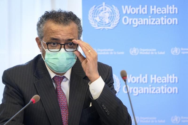 世衛組織(WHO)秘書長譚德塞15日表示,武漢肺炎(疫源調查,因缺乏疫情最初在中國散播時的原始資料而面臨阻礙。(圖/美聯社)