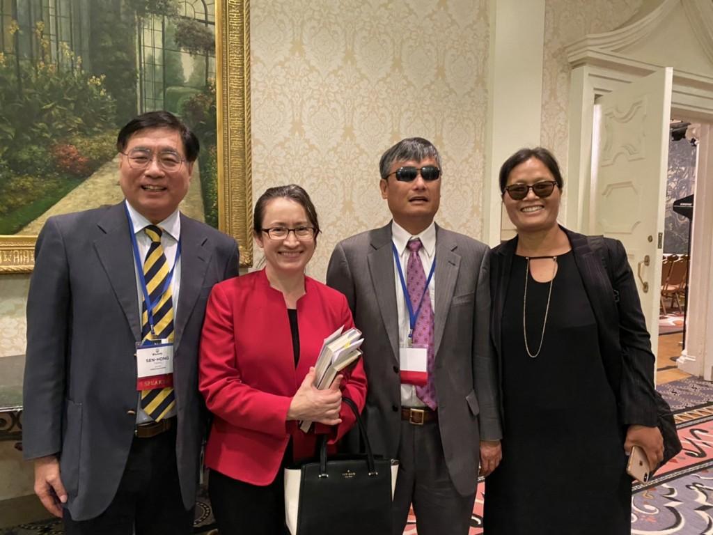 出席國際宗教自由峰會 蕭美琴籲維護台灣「諾亞方舟」