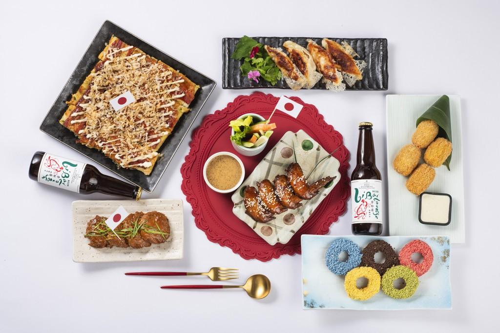 台北遠東香格里拉用美食挺東奧 推出奧運限定外帶餐