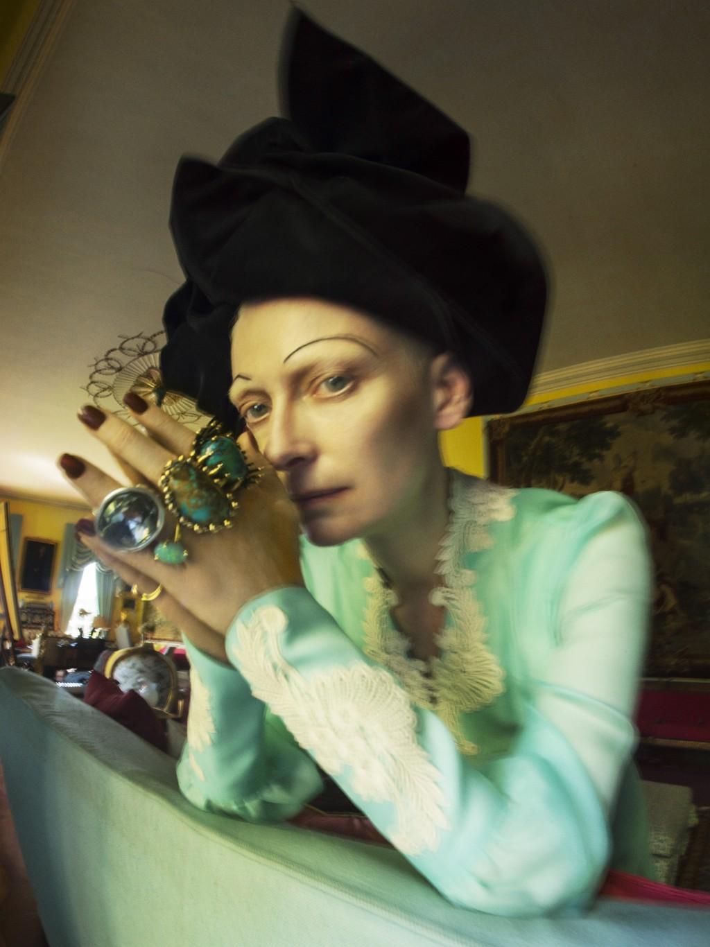 Tim Walker has invited many celebrities, such as Tilda Swinton, to behis models. (Tim Walker Studio photo)
