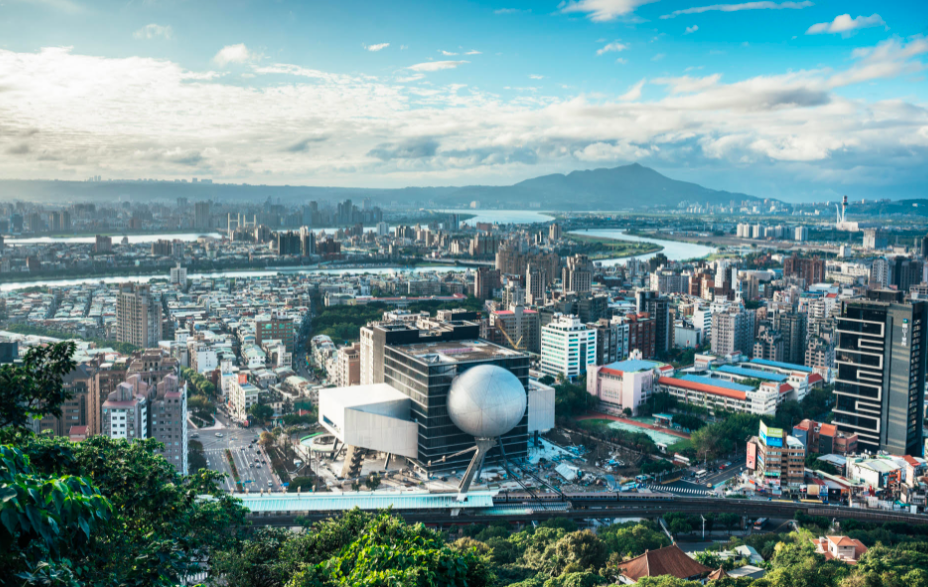 Taipei won a place on the list with its melange of culture and natural locales. (Taipei Performing Arts Center photo)
