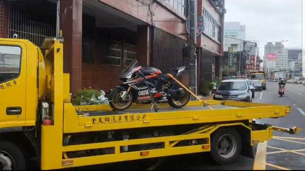 A man in Taichung could lose his Ducati after going 300 kph on a local highway.