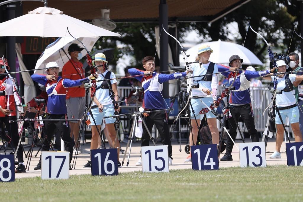 東京奧運射箭個人排名賽7月23日登場,中華隊3名女將上午出賽,在女子團體排名拿下第7種子、避開首日就破奧運大會紀錄的韓國隊。中央社