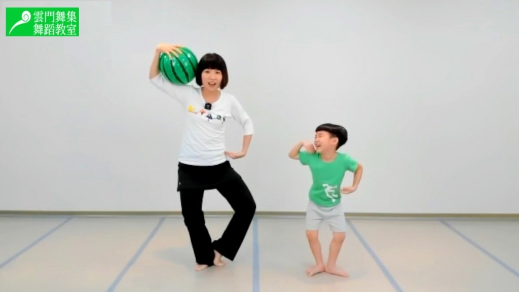 Cloud Gate's new live dance courses are designed for families with kids. (CDGS photo)