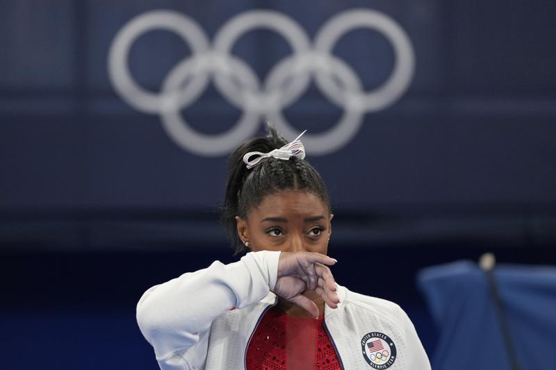 美國體操天后奪金之戰退賽,林書豪加入聲援行列。(圖/美聯社)