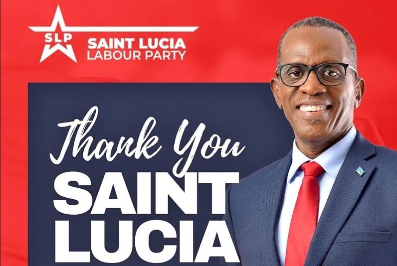 Saint Lucia Prime Minister Philip Joseph Pierre (Facebook, Saint Lucia Labour Party photo)