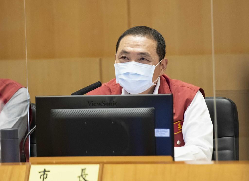 New Taipei City Mayor Hou Yu-ih (CNA, New Taipei City Government photo)