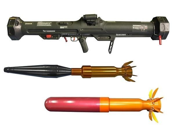 The Kestrel rocket system (NCSIST photo).