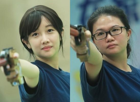 Wu Chia-Ying, Tien Chia-chen. (CNA photos)
