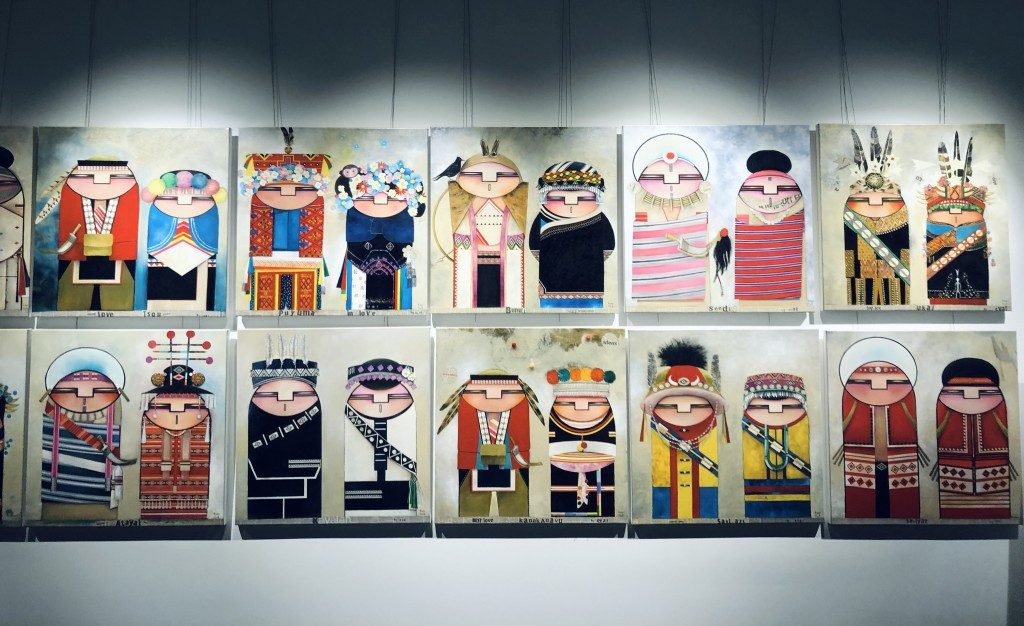 """The special exhibition is called """"ita/kita, power for us.""""(Wendy Wu photo)"""