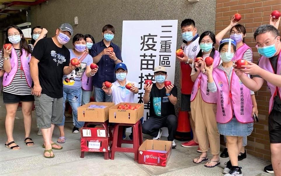 新北27校全力支援疫苗接種站 為抗疫盡心力守護市民健康