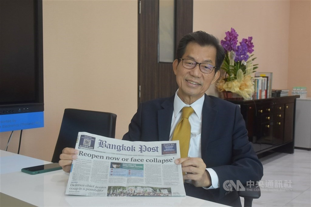 總統府今(4)日發布總統令,駐泰國代表李應元已准辭職,應予免職,自9月1日生效。
