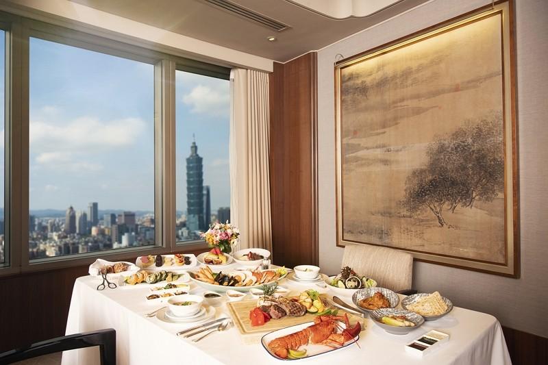 餐廳開放內用  台北遠東香格里拉美食住房迎賓
