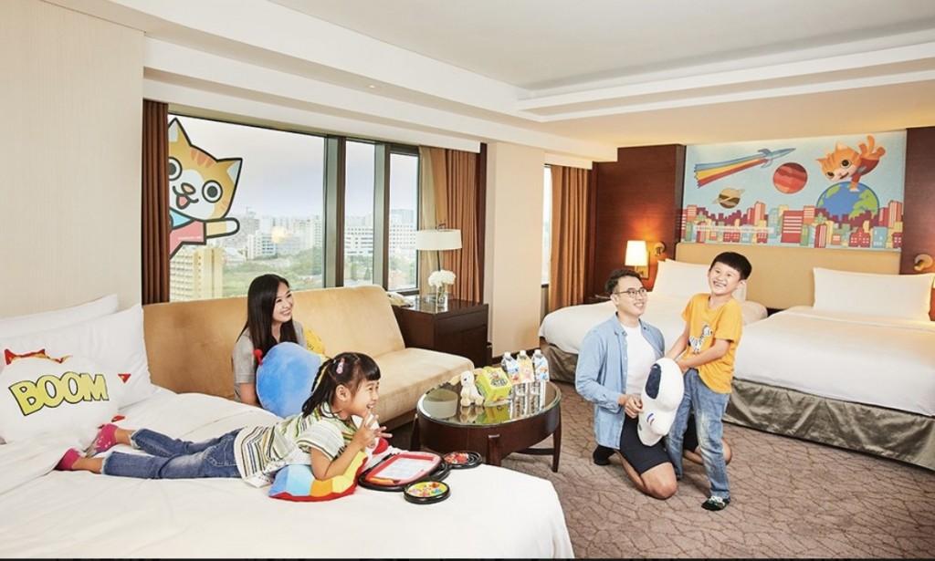 台南遠東香格里拉 結合台灣原創動漫電影推親子微度假
