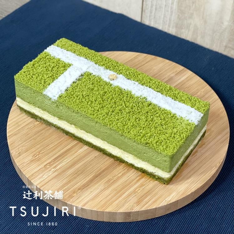 「金牌in 經典抹茶生乳酪蛋糕」確定將於8月6日起販售(圖/辻利茶舗)