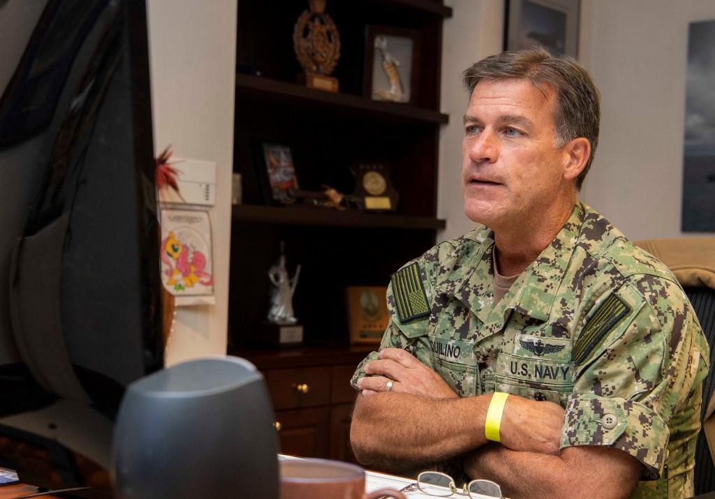U.S. Indo-Pacific Command Commander John Aquilino. (U.S. Navy photo)