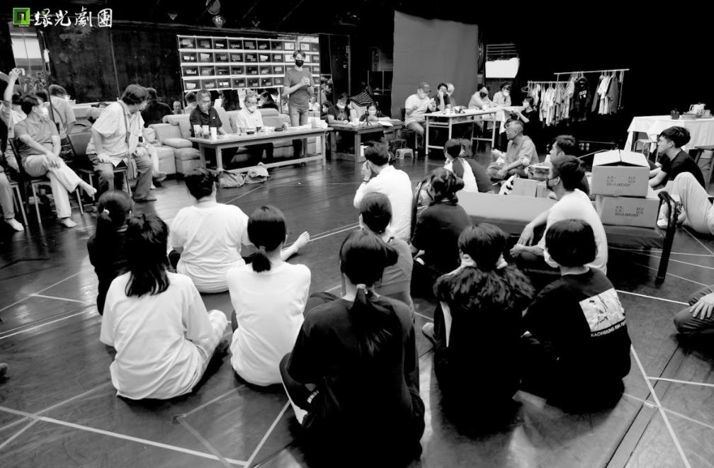 綠光劇團忍痛取消2021年最新舞台劇《人間條件七》國家戲劇院的首演(圖/綠光劇團)