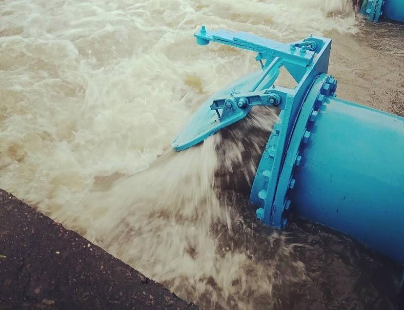 審計部表示,台灣西部走廊地層下陷問題因鑿井救旱愈發嚴重。(圖/雲林縣政府)