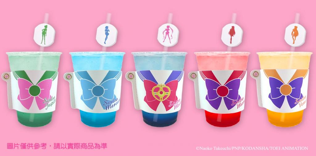 台北東區美少女戰士期間限定咖啡店 超Q杯子蛋糕、豪華權杖隨身碟採線上預約只到11月