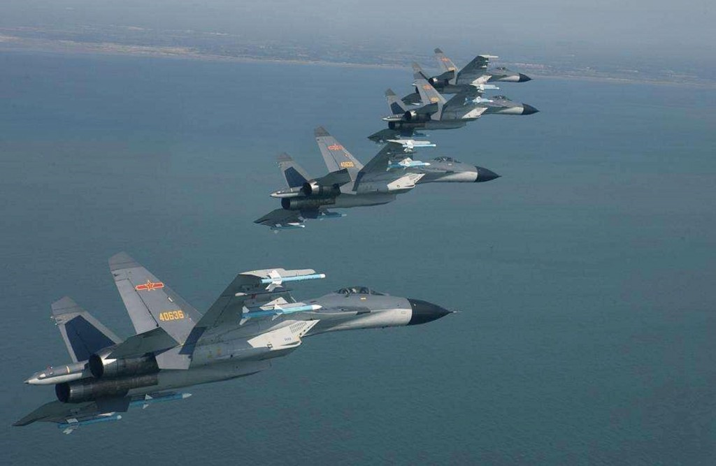 J-16 fighter jets (Weixin image)