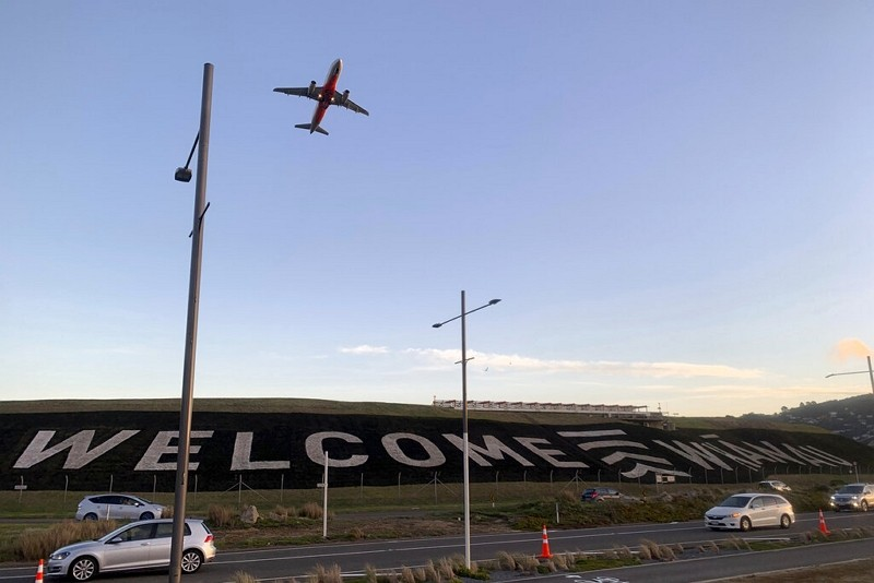紐西蘭威靈頓國際機場(圖/AP)