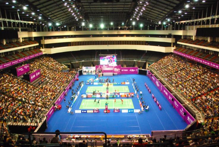 中華羽球協會宣布,台北羽球公開賽連2年停辦。圖為2018年台北羽球公開賽。(圖取自facebook.com/chinesetaipeiop...