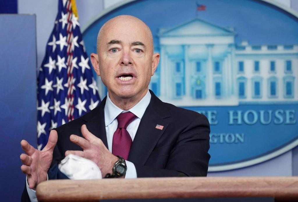美國土安全部部長Alejandro Mayorkas。(圖/路透社)