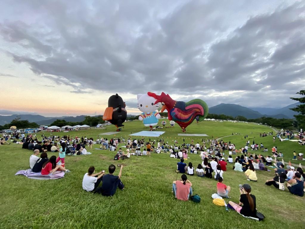 【防疫優先】台灣國際熱氣球嘉年華「台東人限定」 外縣市遊客只能在管制區外觀賞